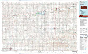 Plainville topographical map