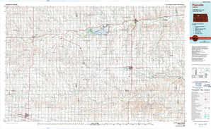 Plainville 1:250,000 scale USGS topographic map 39099a1