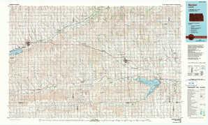 Norton 1:250,000 scale USGS topographic map 39099e1