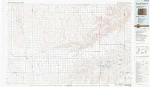 Bonny Reservoir 1:250,000 scale USGS topographic map 39102e1