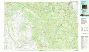 Bailey topographical map