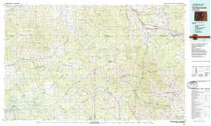 Carbondale topographical map