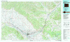 Grand Junction topographical map