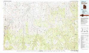 Seep Ridge topographical map