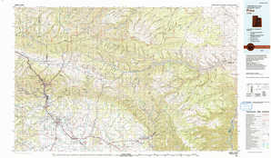 Price topographical map