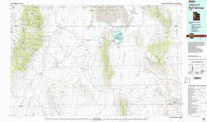 Fish Springs topographical map