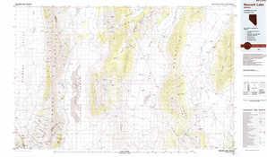 Newark Lake topographical map