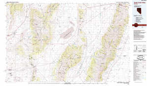 Smith Creek Valley topographical map