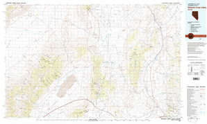 Edwards Creek Valley topographical map