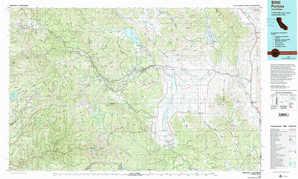 Portola topographical map