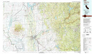 Yuba City topographical map