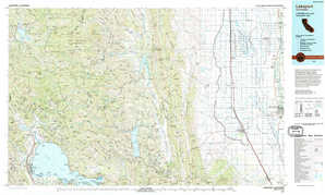 Lakeport topographical map