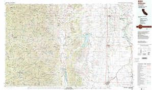Willows topographical map