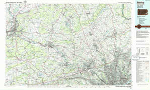Reading topographical map