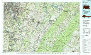 Pittsburgh East topographical map