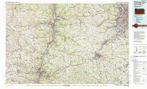 Pittsburgh West topographical map