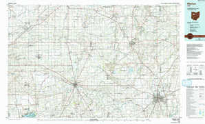 Marion topographical map
