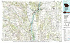 Keokuk topographical map