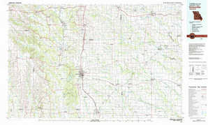 Kirksville topographical map