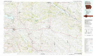 Centerville topographical map