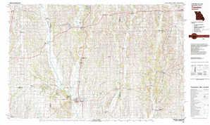 Trenton topographical map