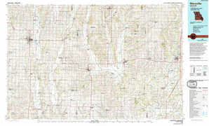 Maryville topographical map
