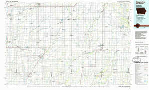 Mount Ayr topographical map