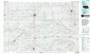 York topographical map