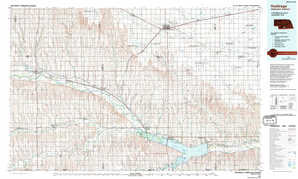 Holdrege topographical map