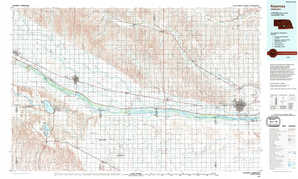 Kearney topographical map