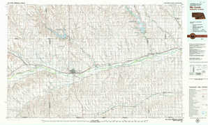 Mc Cook topographical map