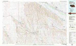 Gothenburg topographical map