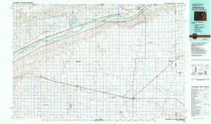 Julesburg topographical map