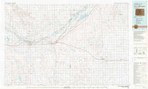 Fort Morgan topographical map