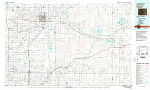 Greeley topographical map