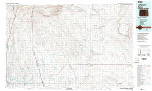 Eaton topographical map