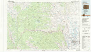 Fort Collins topographical map