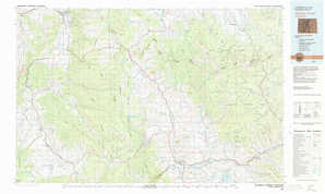 Steamboat Springs topographical map