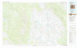 Walden topographical map