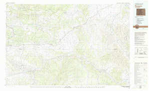 Rangely topographical map