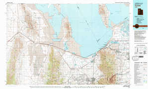 Tooele topographical map