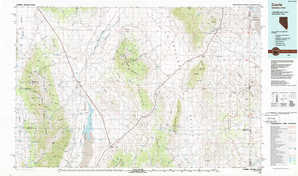 Currie topographical map