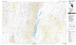 Ruby Lake topographical map