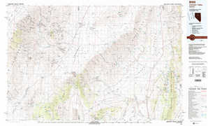 Crescent Valley topographical map