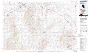 Winnemucca topographical map