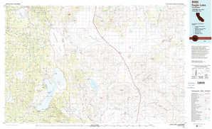 Eagle Lake topographical map