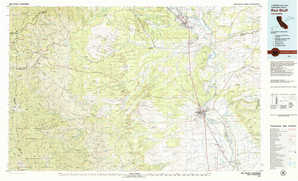 Red Bluff topographical map
