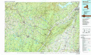 Monticello topographical map