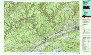 Williamsport West topographical map