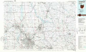 Youngstown topographical map